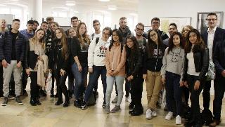EATA begrüßt Schüler aus Italien