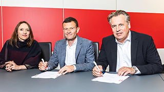 Kooperationsvertrag mit dem VFB